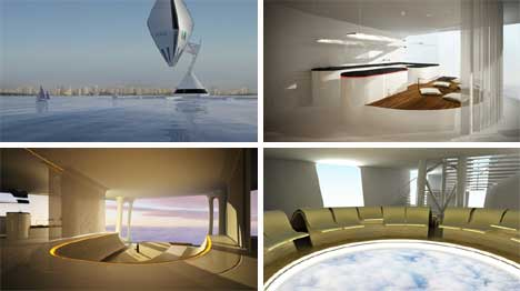 air3 Worlds First Airborne Luxury Hotel to Inaugurate in 2015