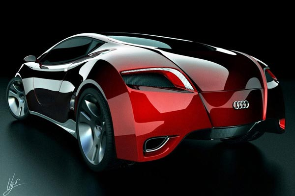audi locus Top 10 Futuristic Concept Cars
