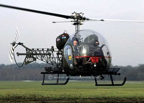 bell47d Top 10 Military Helicopters