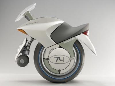 bombardier embrio Top 10 Futuristic Concept Bike Designs