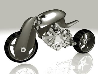 confederate renovatio Top 10 Futuristic Concept Bike Designs