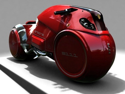 icare Top 10 Futuristic Concept Bike Designs