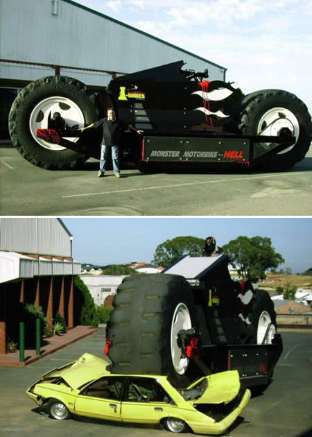 motorcycle big uphaa 10 Unique & Strange Motorcycles Around the World
