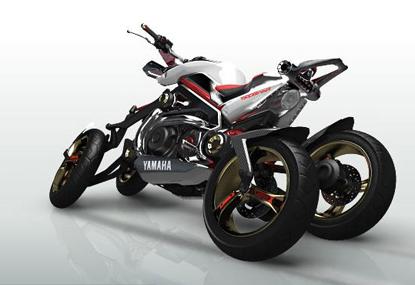 yamaha tessaract Top 10 Futuristic Concept Bike Designs