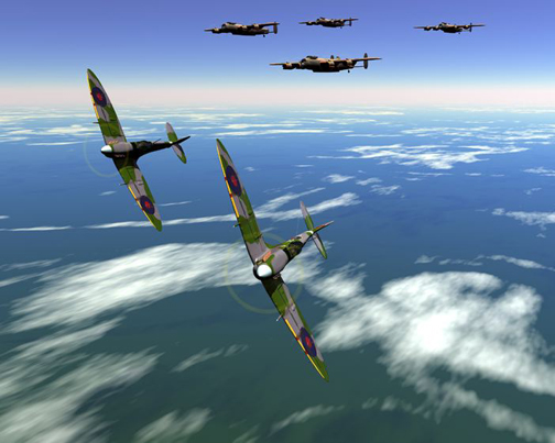 SpitfirePatrolA Top 10 Fighters Planes