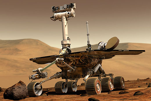 mars rover Top 10 Amazing Robots of Today
