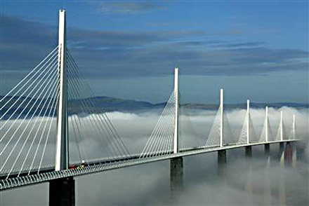 millau viaduct Top 10 Incredible Bridges from Around the World