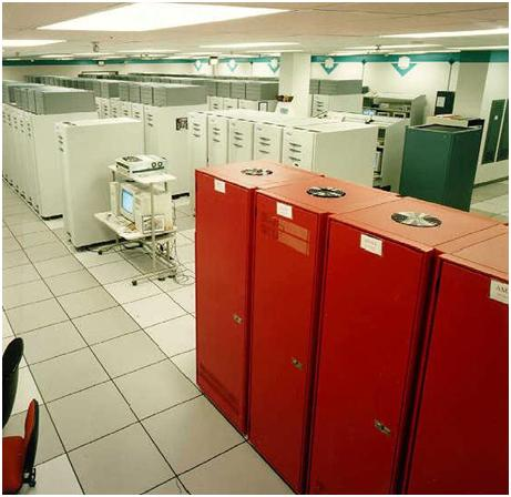 red Top 10 Super Computers in the World