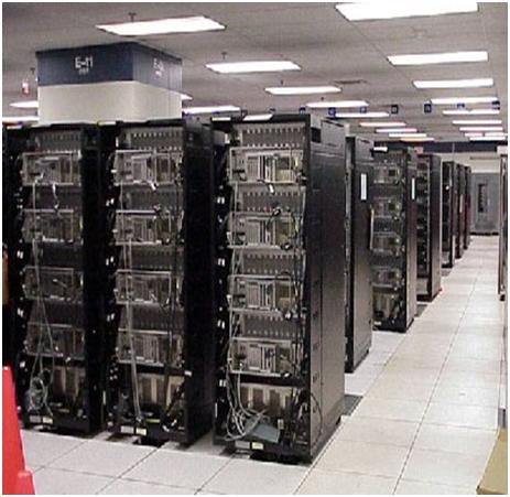 white Top 10 Super Computers in the World