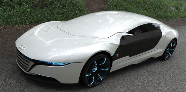 Audi A9 Concept Car Repairs Itself, Changes Body Color