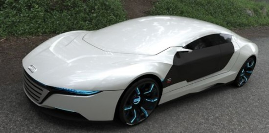 daniel garcias a9 concept1 550x273 Audi A9 Concept Car Repairs Itself, Changes Body Color