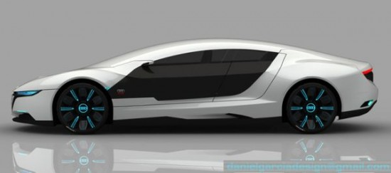 daniel garcias a9 concept3 550x243 Audi A9 Concept Car Repairs Itself, Changes Body Color