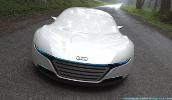 daniel garcias a9 concept4 550x319 Audi A9 Concept Car Repairs Itself, Changes Body Color