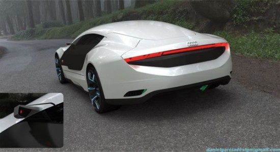 daniel garcias a9 concept5 550x299 Audi A9 Concept Car Repairs Itself, Changes Body Color