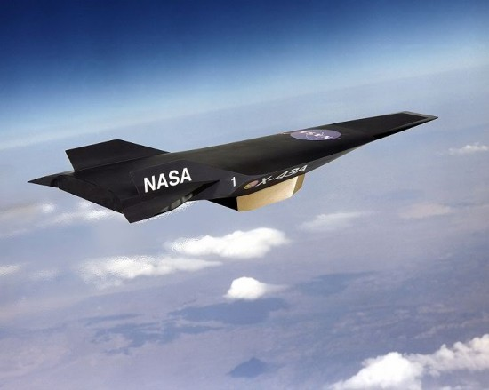 nasa scramjet 550x439 NASA to Test Worlds Fastest Hypersonic ScramJet this Month
