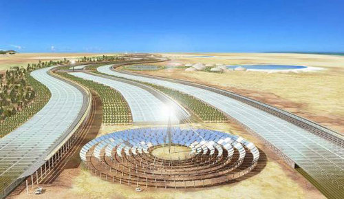 Solar Farms to Power Europe by 2050