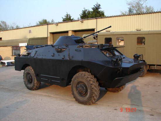 BRDM2 for sale in the uk 3 550x412 Top 10 Russian Military Vehicles