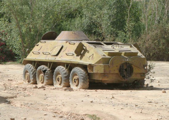 Weapons BTR 60 550x392 Top 10 Russian Military Vehicles