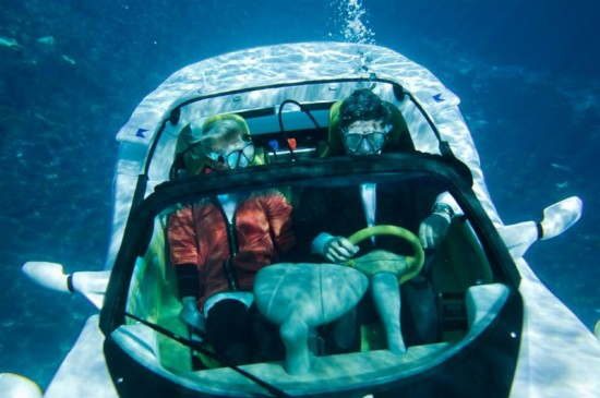image011 550x365 sQuba: Worlds First Underwater Car