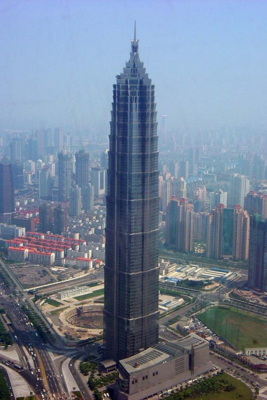 jin mao tower china 550x824 Top 10 Tallest Buildings