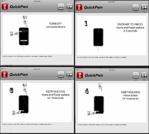 Как сделать режим dfu для iphone
