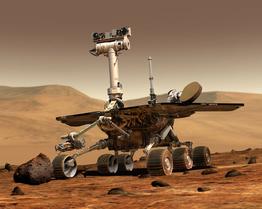 mars exploration rover Top 10 Modern Robots
