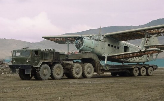 maz 550x340 Top 10 Russian Military Vehicles