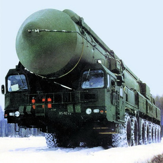 missile 550x550 Top 10 Russian Military Vehicles
