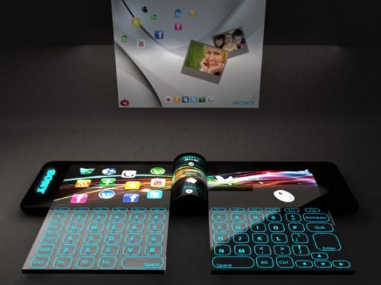 nextep6 550x412 Sony Unveils Futuristic Concept Computer Bracelet