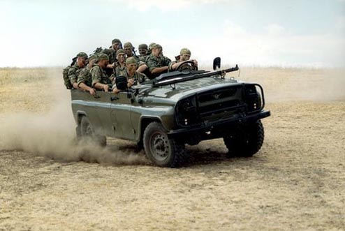 uaz469 2 Top 10 Russian Military Vehicles