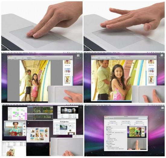apple multitouch 550x523 Apple Unveils Multitouch Magic Trackpad   Price and Review