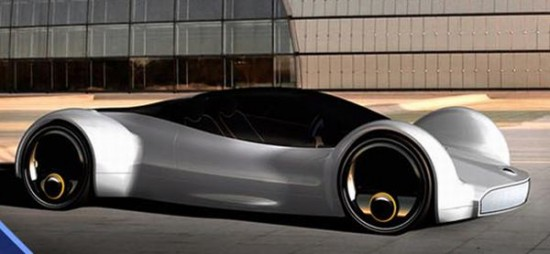 fastest electric car 3 550x254 Electric Concept Car Offers Speed of an Aircraft With Zero Emissions