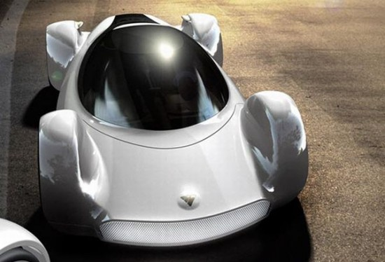 fastest electric car 4 550x374 Electric Concept Car Offers Speed of an Aircraft With Zero Emissions