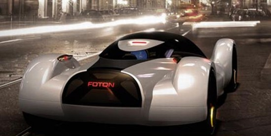 fastest electric car 5 550x276 Electric Concept Car Offers Speed of an Aircraft With Zero Emissions