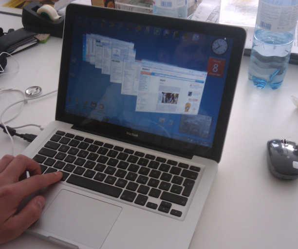 mabook pro windows 7