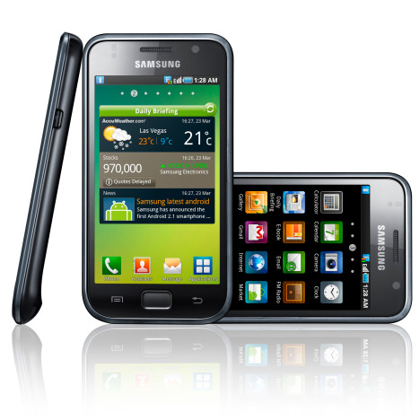 samsung galaxy s graphics power Light weight Samsung Galaxy S Enters UK Smartphone Battle