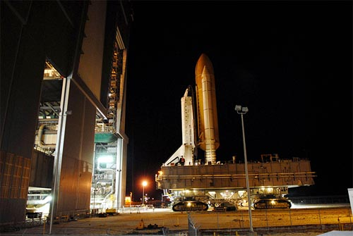 space shuttle discovery mobile launch pad NASA Announces Final Dates For Last Two Shuttle Missions