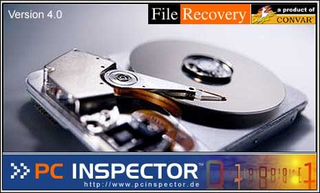 PC inspector1 10 Ways to Recover Data Off a Crashed Hard Disk