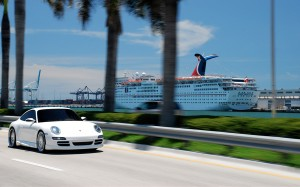 Porsche on SEVAS  WHEELS R 22 Miami harbour behind widescreen wallpaper 1280x800 300x187 Top 120 Porsche Wallpapers