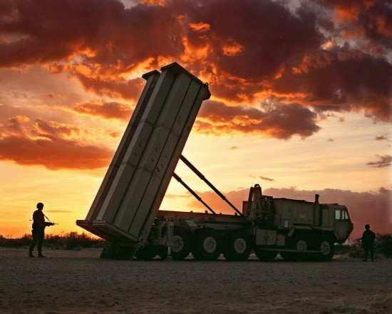 THAAD 550x440 Top 10 Anti Missile Systems