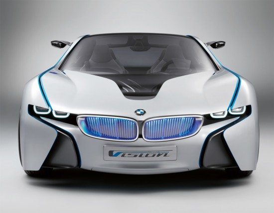 bmw vision efficientdynamics hybrid concept car 550x428 A look at BMWs Vision Efficient Dynamics