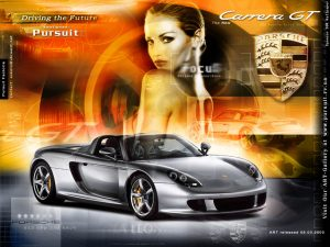 porsche carrera gt car wallpaper 300x225 Top 120 Porsche Wallpapers