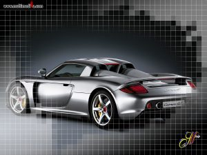 porsche carrera gt rear 300x225 Top 120 Porsche Wallpapers