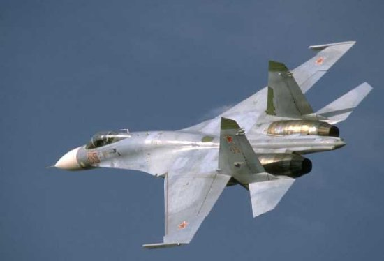 su 27a Top 10 Russian Sukhoi fighter aircrafts
