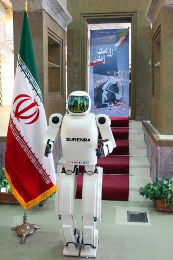 surenaisname Iran Unveils its First Human Like Robot