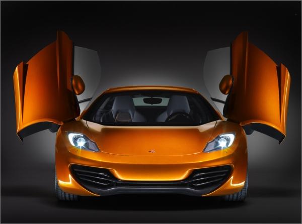 McLaren MP4-12C front