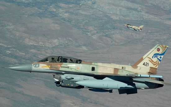 israeli air force neveda 550x345 10 Largest Air Battles in History