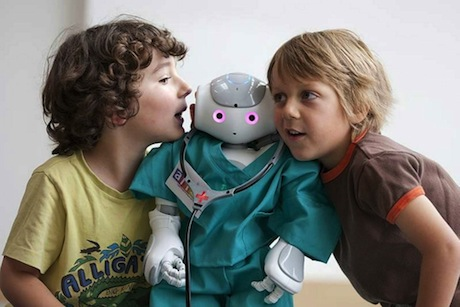 robot children Robot Companions to Befriend Sick Kids at Hospitals