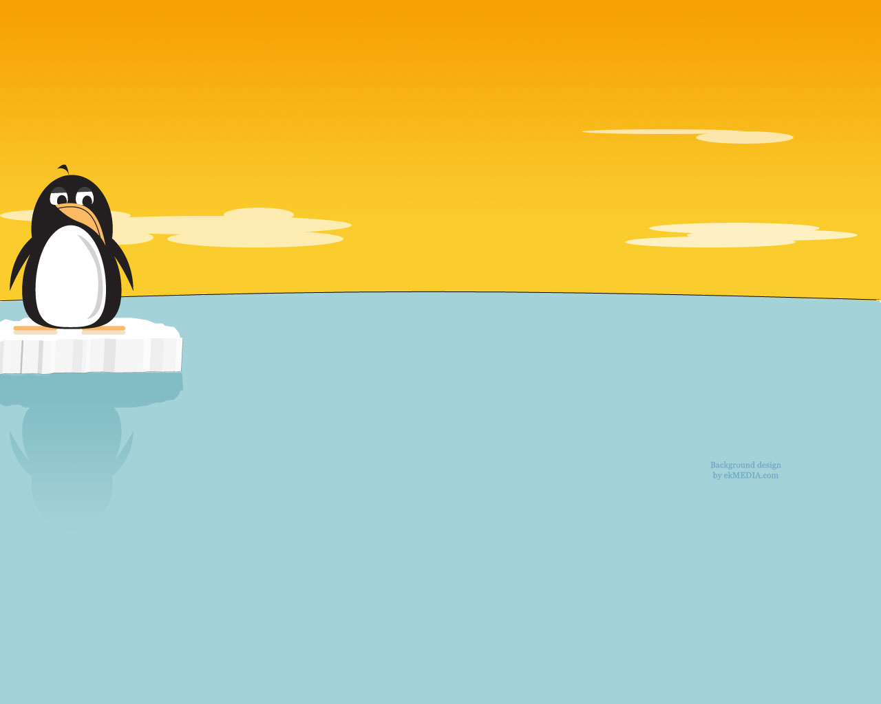 twitter penguin background
