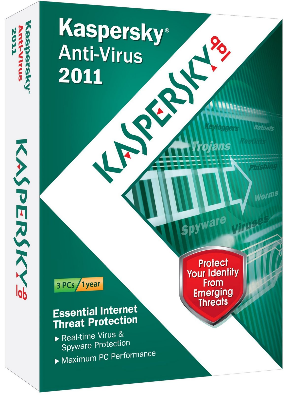Kaspersky Anti Virus 2011 Top 10 Antivirus for Windows